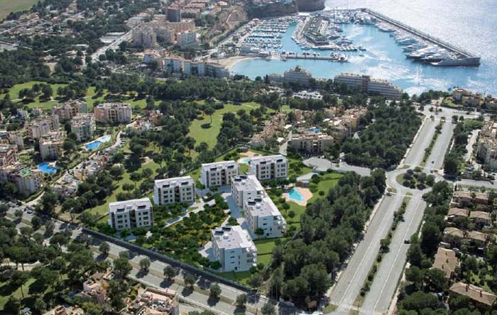 New residential complex, Mallorca, Spain